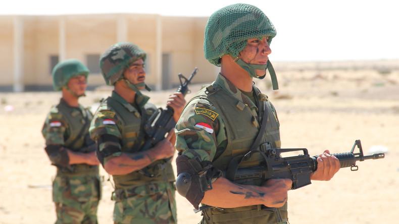 Terroranschlag auf Sinai-Halbinsel - zehn ägyptische Militärs und 40 Extremisten tot