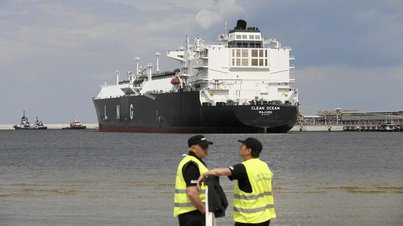 Gegen Russland und Deutschland: Polen will Drehscheibe für US-Flüssiggas in Europa werden