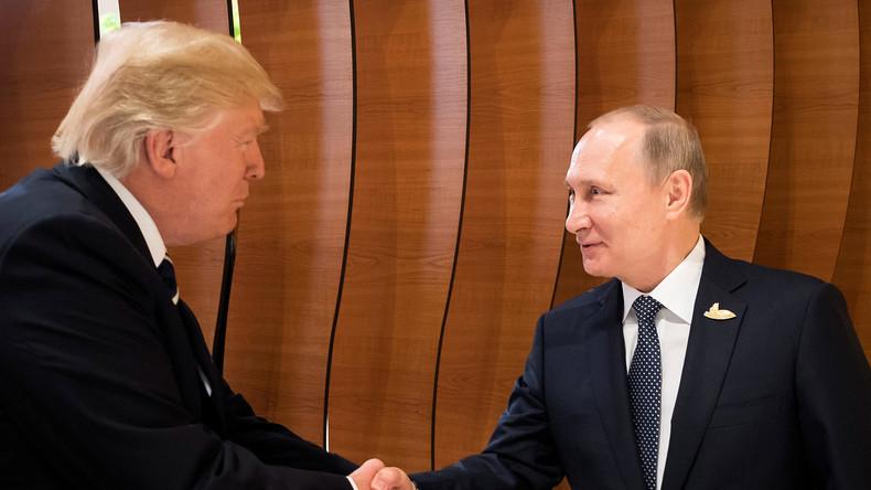 Putin und Trump schütteln Hände vor erstem Meeting im Rahmen des G20-Gipfels