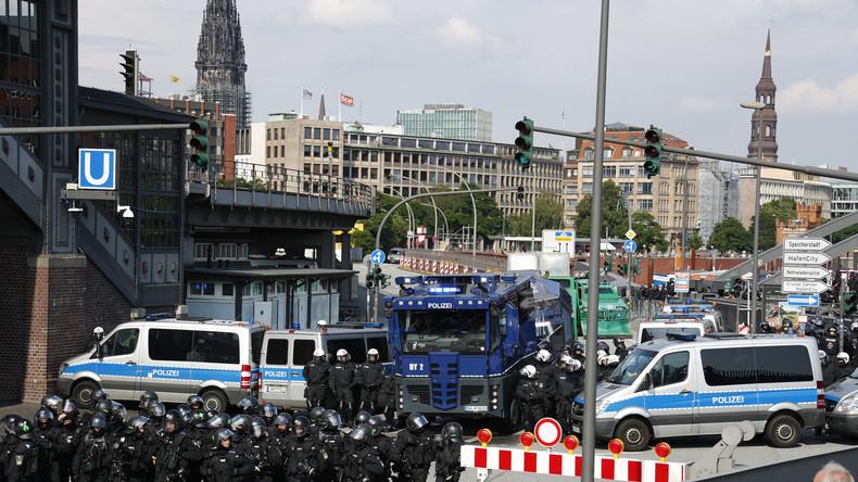 Live: Tag 2 - Proteste gegen G20-Gipfel in Hamburg