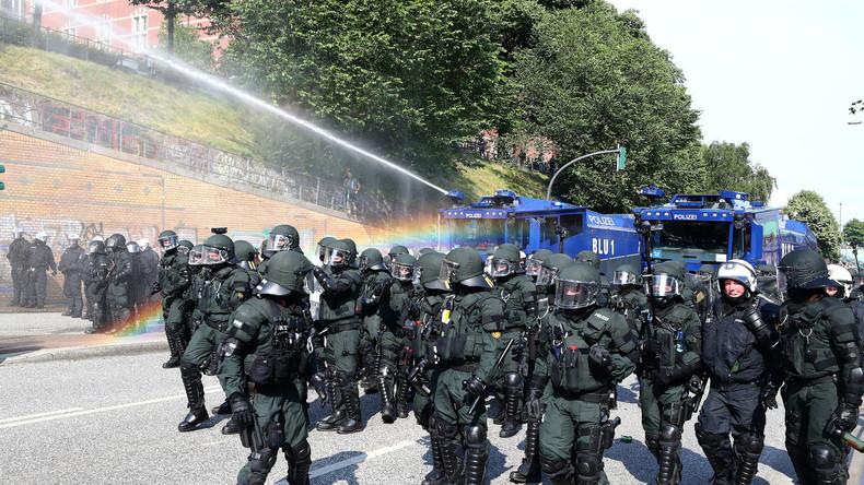 G20 in Hamburg - Proteste und Polizeieinsätze