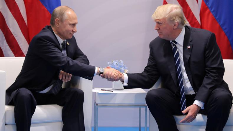 (VIDEO) Putin und Trump vereinbaren Waffenstillstand für Syrien, Zusammenarbeit in Cybersicherheit