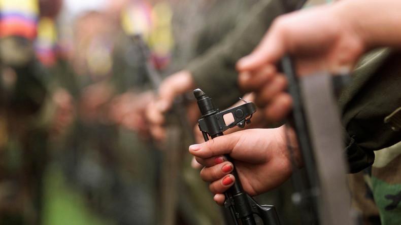 Munition der kolumbianischen Farc-Guerilla wird zerstört