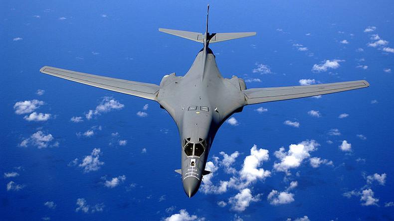 US-Bomber fliegen Manöver mit der südkoreanischen und japanischen Luftwaffe nahe Nordkoreas Grenze