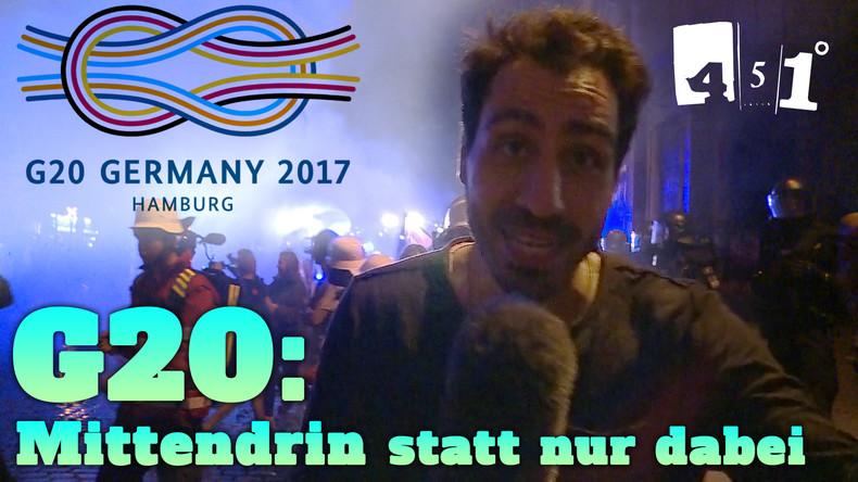 G20 Gipfel | Hamburg brennt mittendrin im Chaos | 451 Grad
