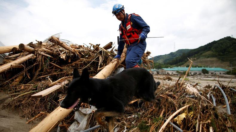 Unwetter in Japan fordert mindestens 15 Menschenleben