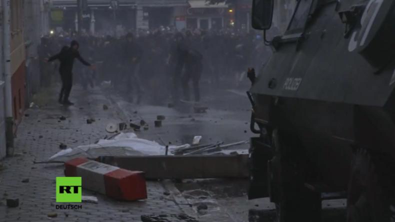 Hamburgs Schanzenviertel wird zum Schlachtfeld: Militante G20-Gegner sorgen für pure Verwüstung