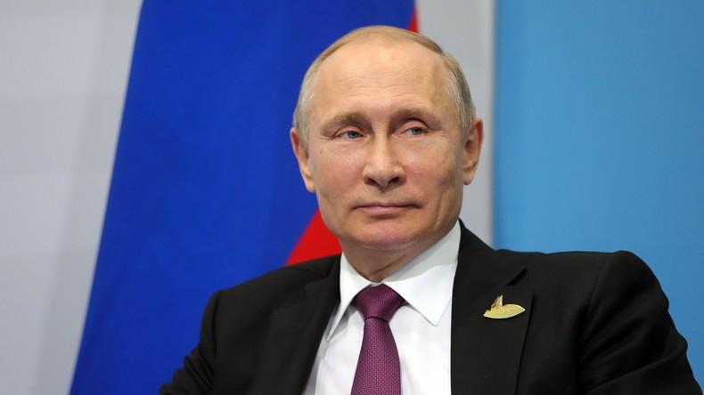 Wladimir Putin zieht die Bilanz des G20-Gipfels in Hamburg [VIDEO]