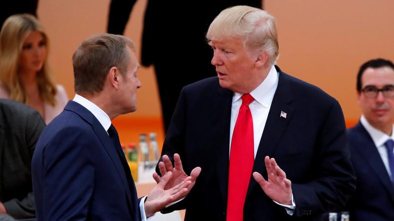 EU-Ratspräsident Tusk: Europäisch-australisches Freihandelsabkommen vorrangig