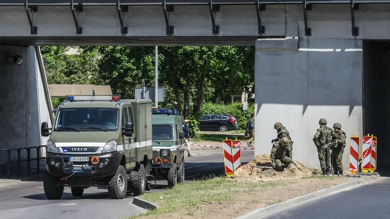 Polen evakuiert 10.000 Einwohner nach Fund von Kriegsbombe