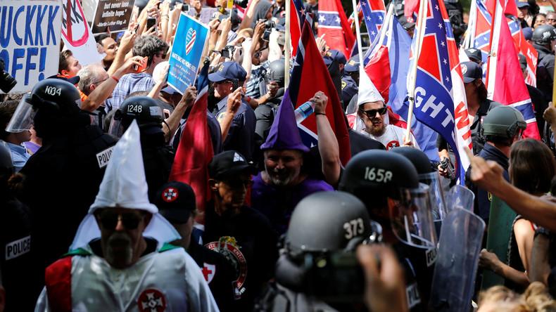 US-Polizei nimmt 23 Menschen bei Ku-Klux-Klan-Protestaktion fest