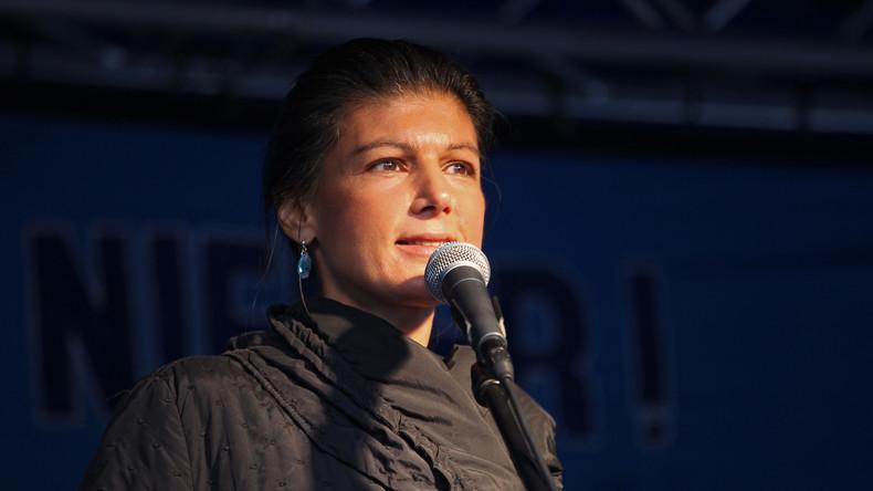 Sahra Wagenknecht fordert Ende für G20-Gipfel