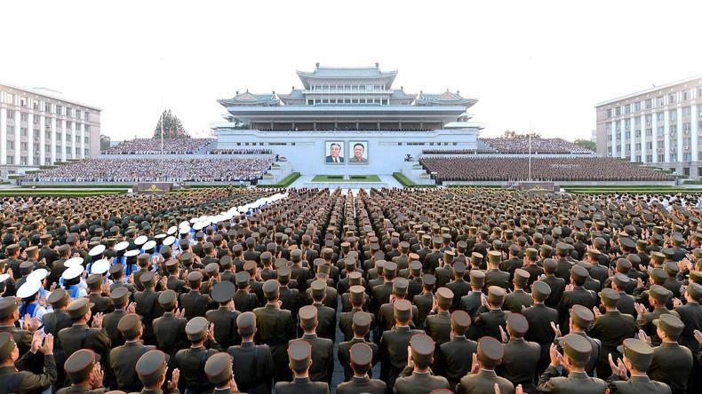 China setzt seine Militärkontakte zu Nordkorea auf null