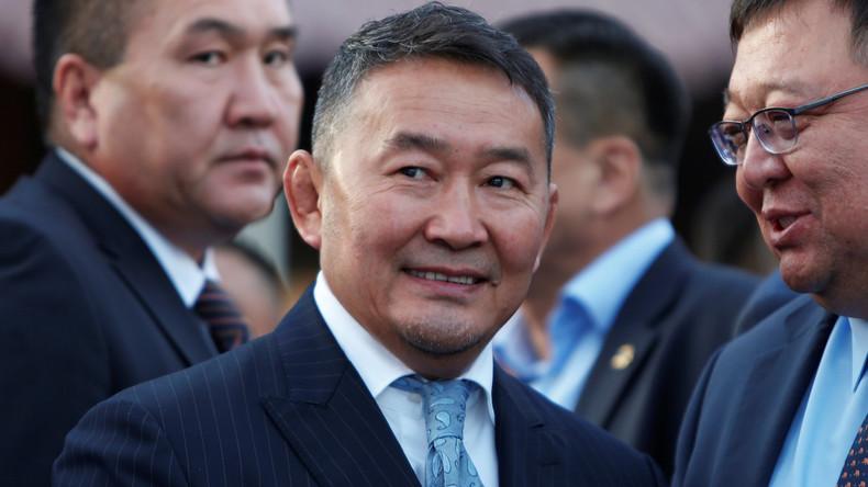 Oppositionskandidat wird Präsident der Mongolei