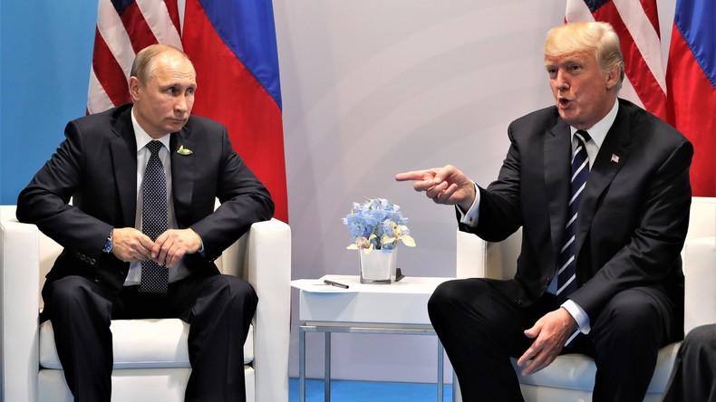 """""""Ich ging Putin hart an - aber Obama ist schuld"""": Trump kommentiert sein Treffen mit Putin"""
