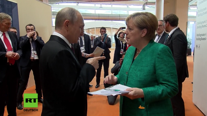 G20: Time To Say Goodbye – Merkel spricht Russisch, Putin Deutsch