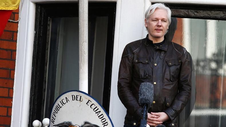 """WikiLeaks nominiert Assange für russisch-amerikanische Cyber-Einheit: """"Hat bestes Material zur CIA"""""""
