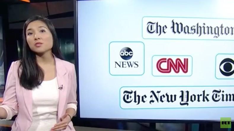 Neuste Wendung: US-Medien bringen Fake News über Russland - schuld sind: die Russen