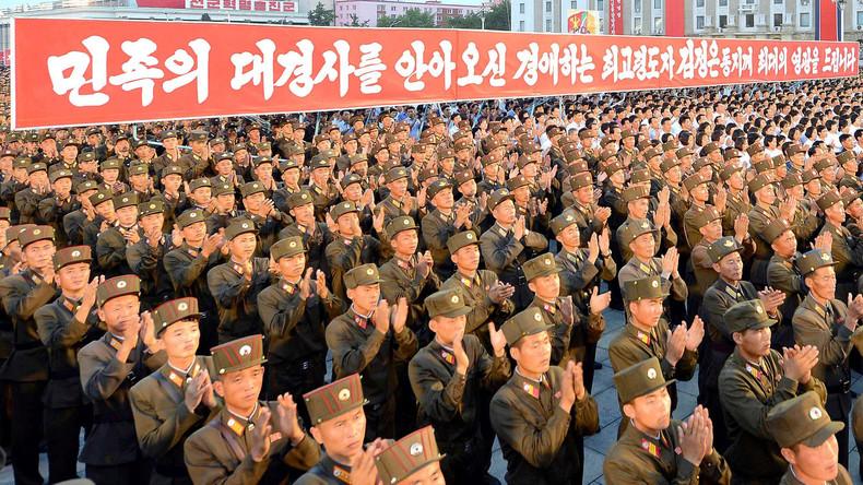 """Donald Trump zu Nordkorea: """"Zeit der Geduld ist vorbei"""""""