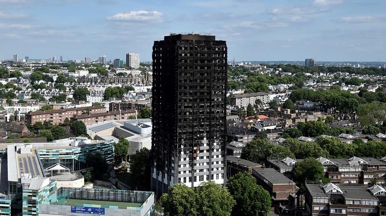 Scotland Yard: Suche nach Opfern von Brandkatastrophe abgeschlossen
