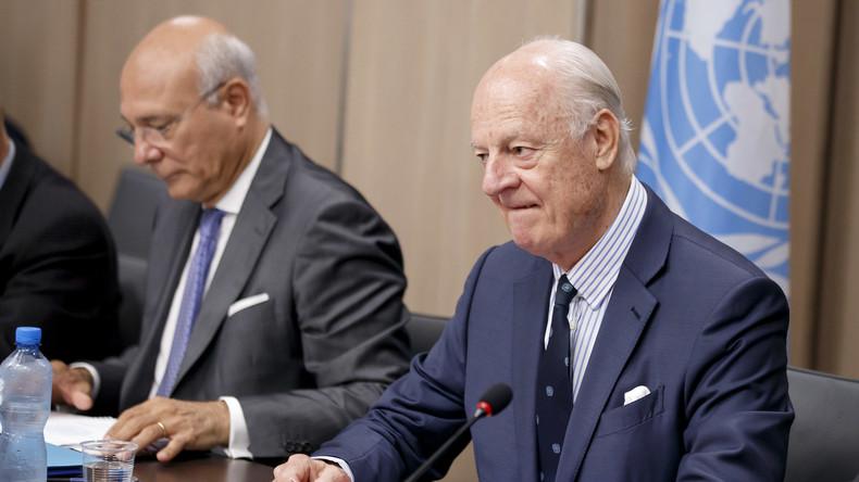 Syrien-Friedensgespräche: UN-Vermittler spricht von Fortschritten - Neue Waffenruhe hält