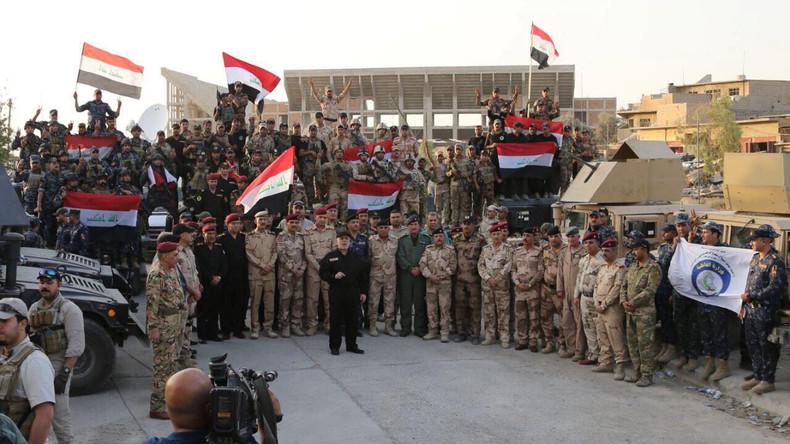 Iraks Ministerpräsident Al-Abadi verkündet Befreiung von Mossul