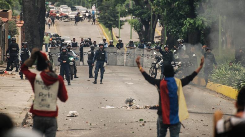 Jugendlicher bei Protesten gegen Regierung in Venezuela erschossen