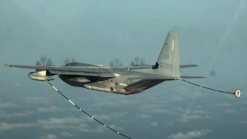 USA: 16 Menschen sterben bei Absturz von Militärflugzeug
