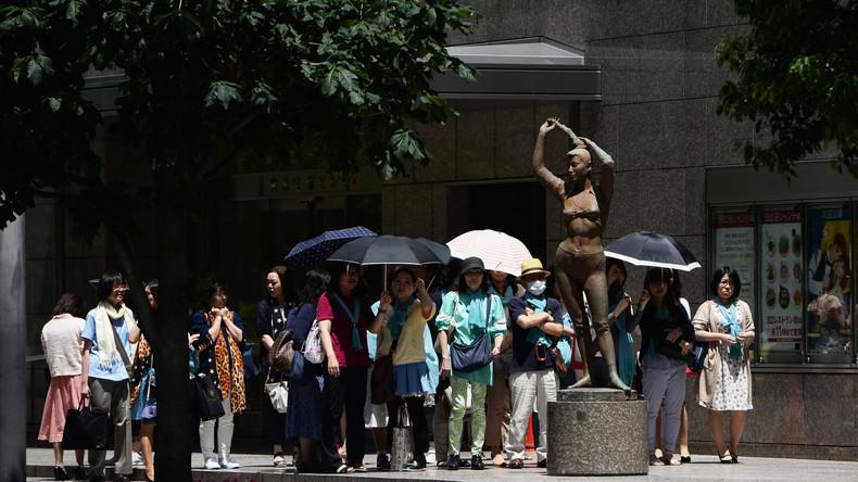 Sechs Menschen sterben an Hitze in Japan