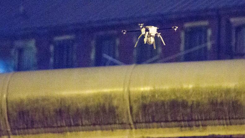 USA: Drahtzange für Gefängnisausbruch mit Drohne transportiert