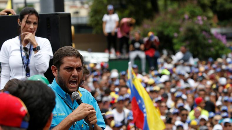 Venezolanische Opposition spricht in USA über Putsch-Pläne – Putin und Maduro telefonieren