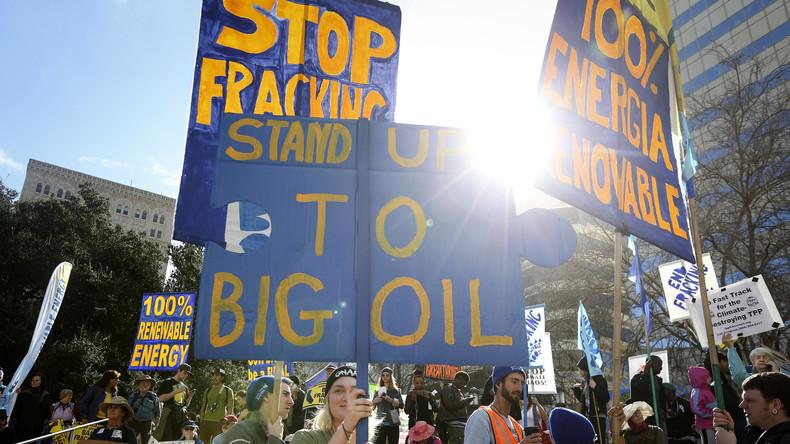 Der Russe wieder: Moskau soll Umweltaktivisten finanzieren, um den US-Energiesektor zu sabotieren