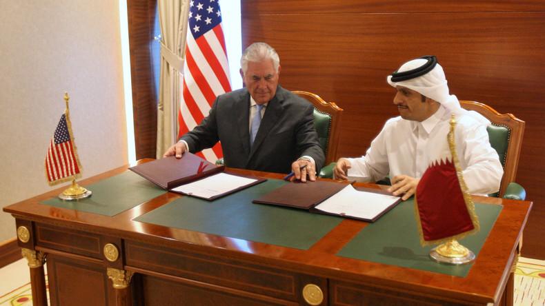 USA und Katar unterzeichnen Abkommen zur Bekämpfung der Terror-Finanzierung