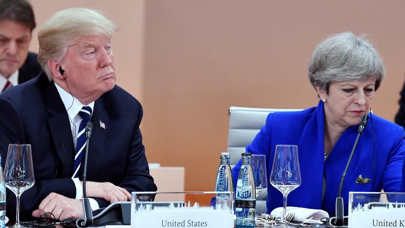 Trumps Freihandels-Versprechen an Großbritannien treibt EU in die Enge