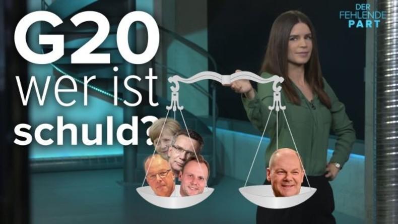 G20 ist vorbei und alle wollen wissen, wer ist schuld? Ein Kommentar von Jasmin Kosubek