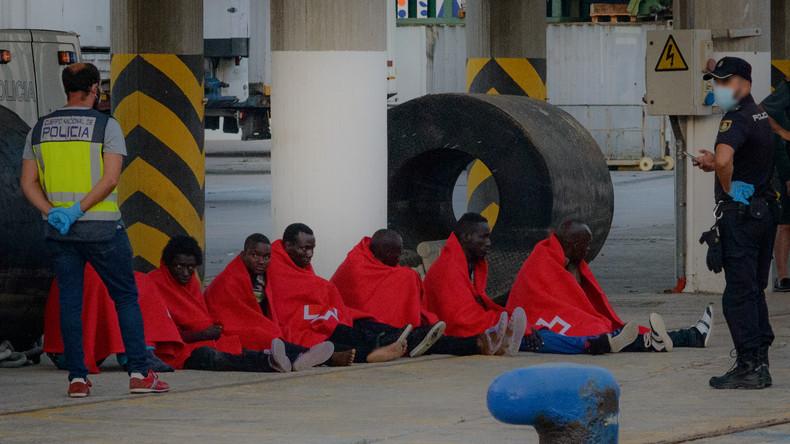 Spanien: Anzahl der Migranten aus Afrika steigt