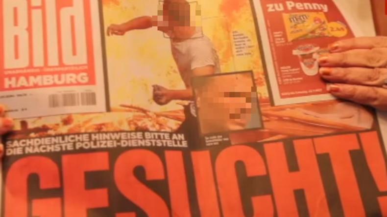"""BILD-Zeitung in Lynchstimmung: Mögliche G20-Randalierer per Foto """"zur Fahndung ausgeschrieben"""""""