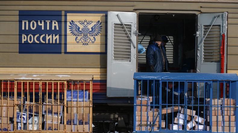 Drogen statt Puzzle in deutschem Postpaket nach Russland