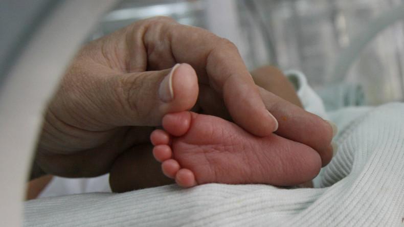 Baby bei Rettungseinsatz im Mittelmeer geboren