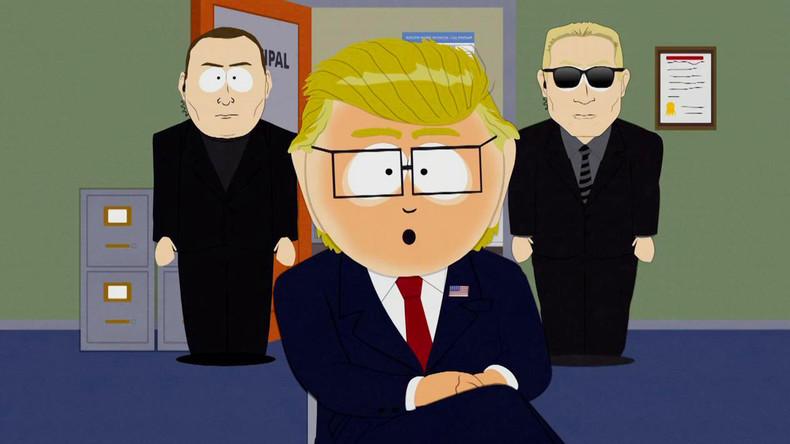 Spaß beiseite: South Park will sich über Donald Trump nicht mehr lustig machen