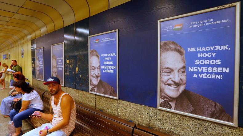 """Alle gegen George Soros: """"Größenwahn eines James Bond Bösewichts"""""""