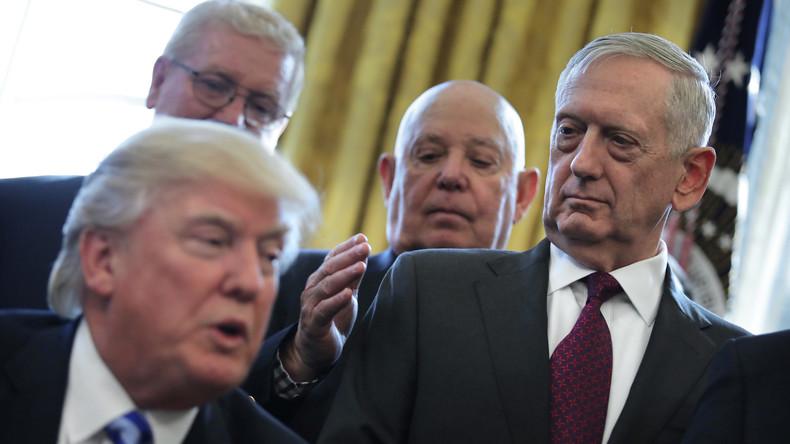 Während Trump spricht, stellt das Pentagon sich quer