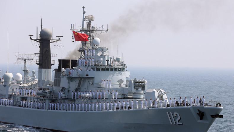 """""""Die besten ihrer Kategorie"""" – China entsendet Kampfschiffe in die Ostsee"""