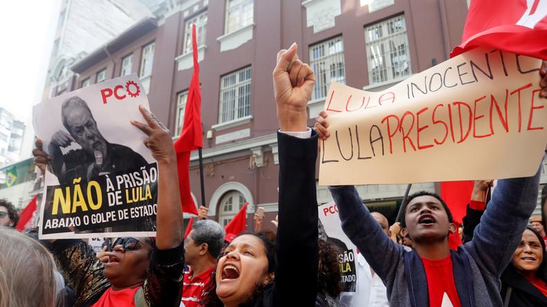 Zweifelhafter Richterspruch: Brasiliens Ex-Präsident zu hoher Haftstrafe verurteilt