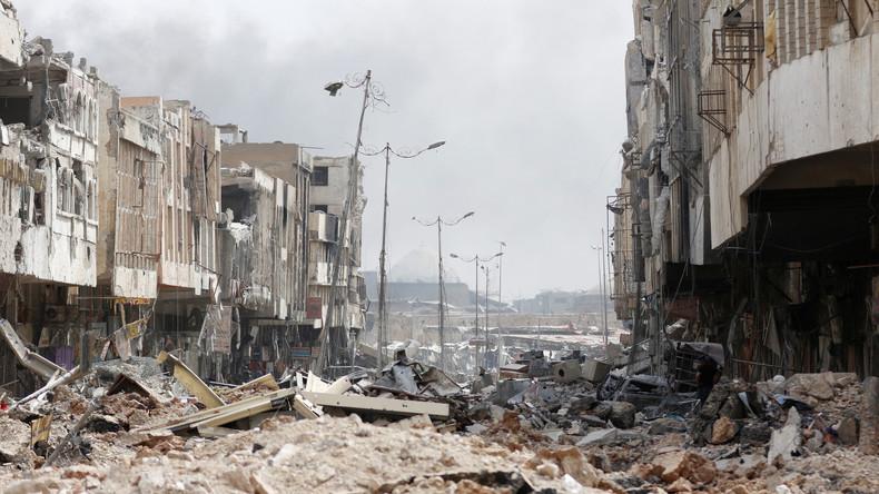 """Expertin: """"Medienverbot während der Mossul-Kampagne half, volles Ausmaß der Zerstörung zu verbergen"""""""