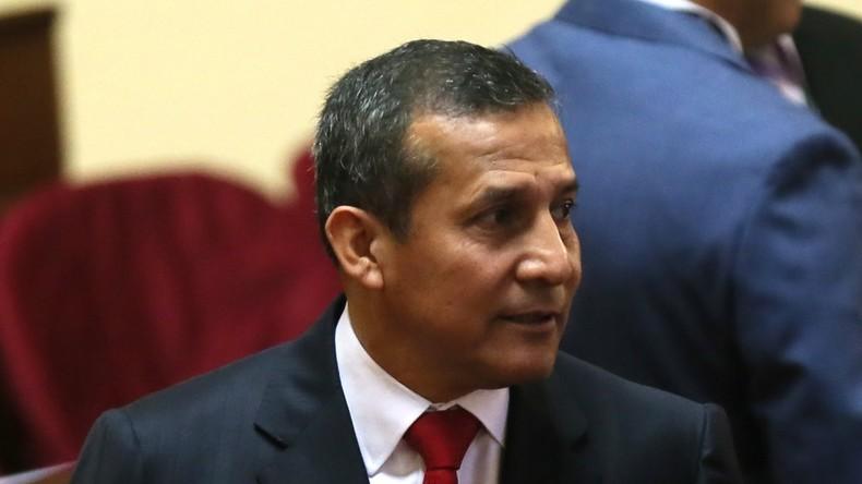 Perus Ex-Präsident Humala kommt in Untersuchungshaft