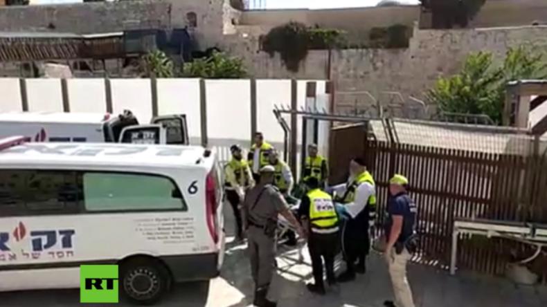 Israel: Video zeigt Schießerei auf dem Tempelberg - Fünf Tote, mehrere verletzte Polizisten (UPDATE)