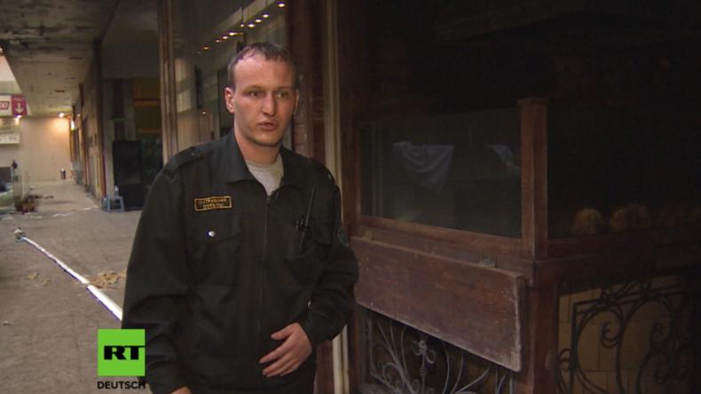 Wenn Katastrophen Heldengeschichten schreiben – Russischer Wachmann rettet Menschen aus Großbrand