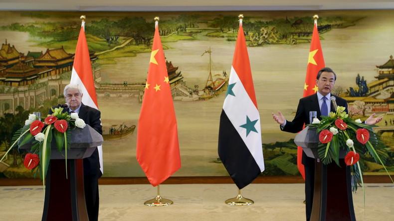 Chinas Investitionsplan für Nahost: Drehkreuz für Neue Seidenstraße soll in Syrien liegen
