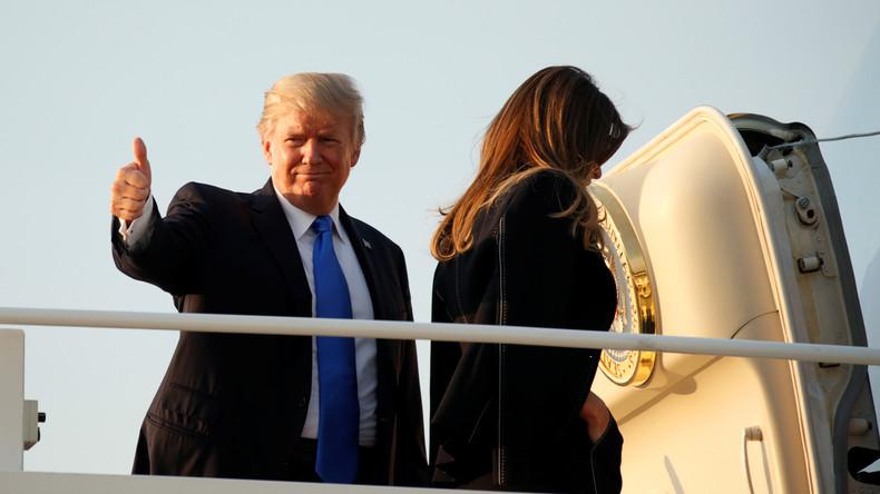 Stahl, Sanktionen und die Mauer: Donald Trump wieder in Höchstform